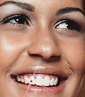 Schmucksteine am Zahn
